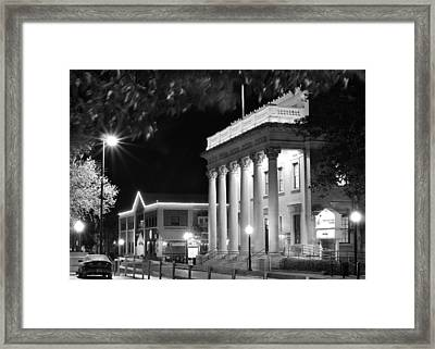Framed Print featuring the photograph Hippodrome At Night  by Farol Tomson