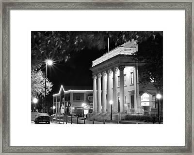 Hippodrome At Night  Framed Print by Farol Tomson