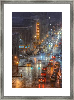 Hippodrome Theatre - Baltimore Framed Print