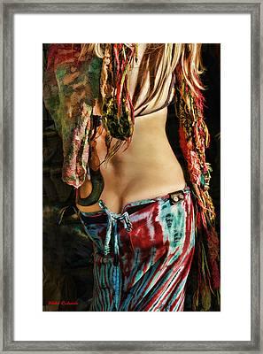 Hippy Back Framed Print by Blake Richards