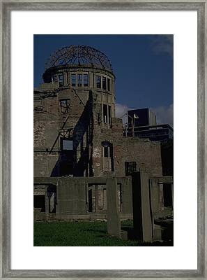 Hiroshima Peace Memorial Framed Print