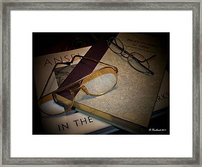 His And Hers - A Still Life Framed Print by Betty Northcutt