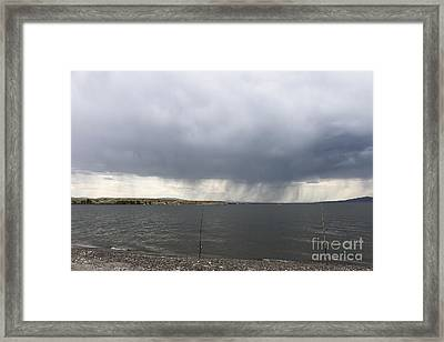 His And Hers Framed Print by Carolyn Brown