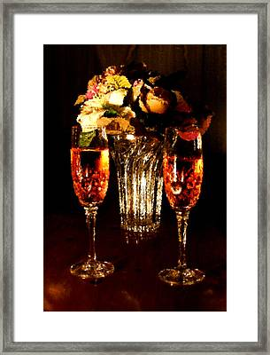His And Hers Framed Print by Kristin Elmquist