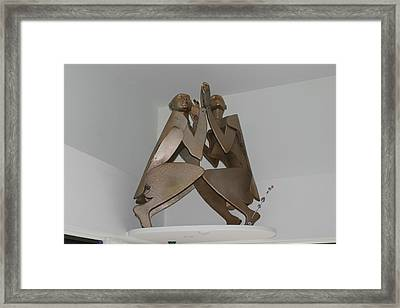 His And Hers Framed Print by Michael Jude Russo