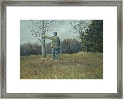 His Country Framed Print