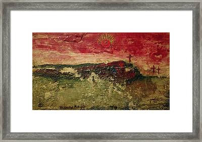 His Crucifiction Framed Print