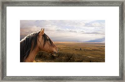 His Domain Framed Print by Ron  McGinnis