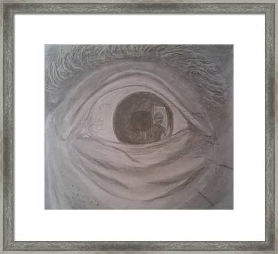 His Eye Shall Trouble Me No Longer Framed Print by Salvatore Roma