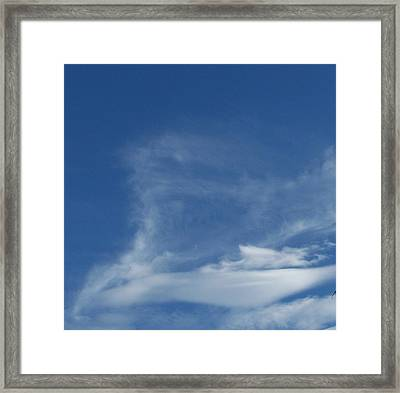 His Face Framed Print by Laurie Kidd