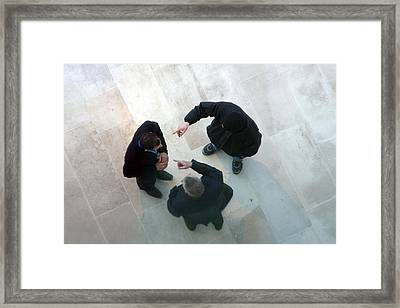 His Fault Framed Print by Jez C Self