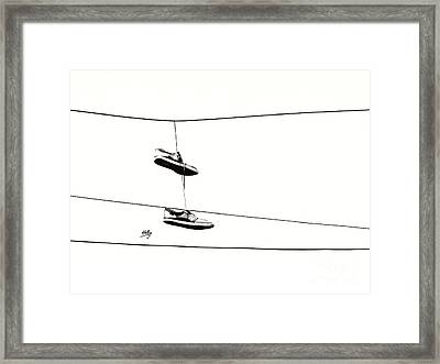 Framed Print featuring the photograph His by Linda Hollis
