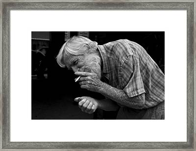 His Name Is Bow Framed Print