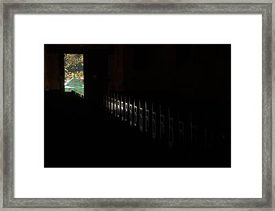 Framed Print featuring the photograph His Power by Al Swasey