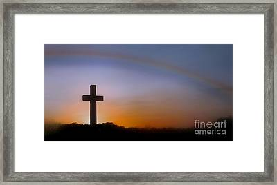Framed Print featuring the photograph His Promise by Benanne Stiens