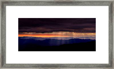His Ways.. Framed Print
