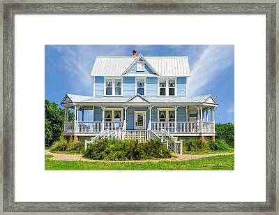 Framed Print featuring the photograph Historic 1800s Valentine House  -   1800svalentinehouse135435 by Frank J Benz