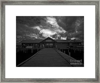 Historic Anna Maria City Pier 9197439 Framed Print