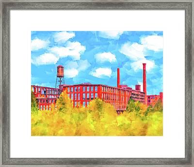 Historic Atlanta - Fulton Cotton Mill Framed Print