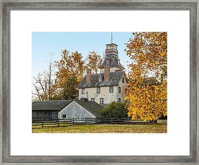 Historic Batsto Mansion Framed Print