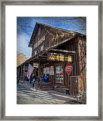 Historic Butte Creek Mill Framed Print by Mick Anderson