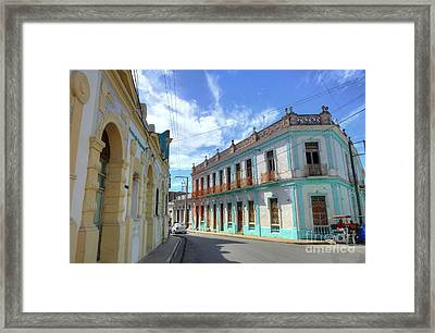 Historic Camaguey Cuba Prints 2 Framed Print by Wayne Moran
