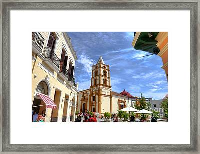 Historic Camaguey Cuba Prints 3 Framed Print by Wayne Moran