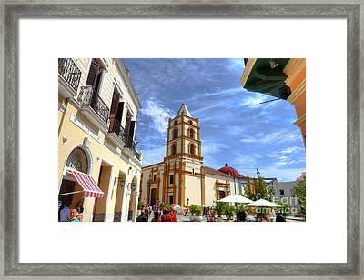Historic Camaguey Cuba Prints 3 Framed Print