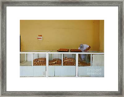 Historic Camaguey Cuba Prints The Bakery Framed Print by Wayne Moran