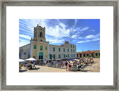 Historic Camaguey Cuba Prints Framed Print by Wayne Moran