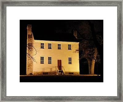 Historic Carter Mansion  Framed Print