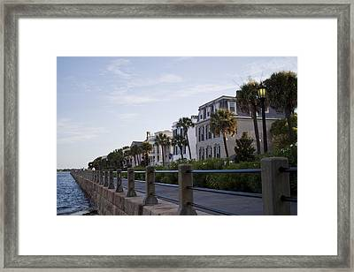 Historic Charleston Battery Framed Print