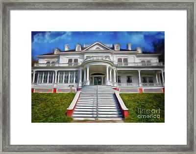 Historic Cone Manor Blue Ridge Parkway Ap Framed Print