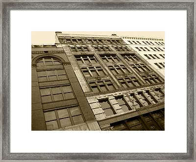 Historic Detroit Framed Print