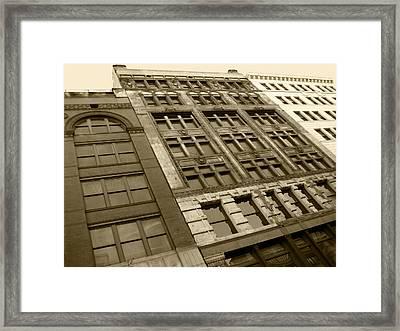 Historic Detroit Framed Print