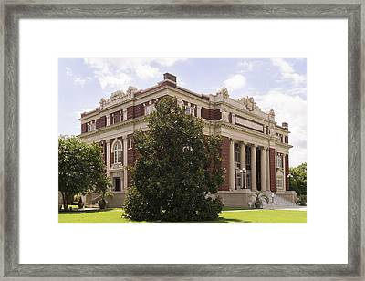 Historic Dillon County Sc Courthouse Framed Print