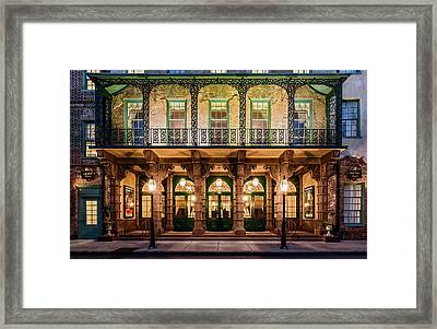 Historic Dock Street Theatre Framed Print