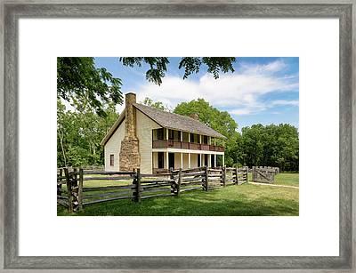 Historic Elkhorn Tavern Framed Print