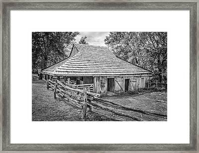 Historic Farm Framed Print