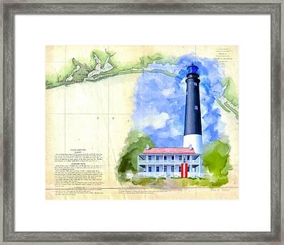 Historic Florida Panhandle - Pensacola Framed Print