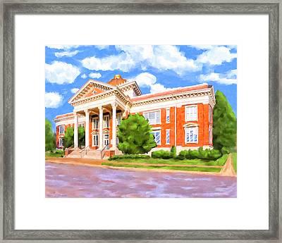 Historic Georgia Southwestern - Americus Framed Print