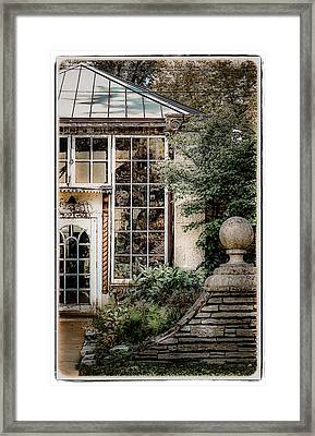 Historic Grosse Point Framed Print by Julie Palencia