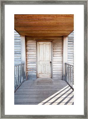 Historic Henry House At Manassas National Battlefield Park Framed Print