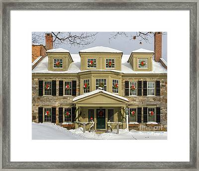 Historic Holidays Framed Print