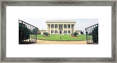 Historic Home From 1836, Macon, Georgia Framed Print by Panoramic Images