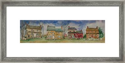 Historic Homes Of Chadds Ford Framed Print