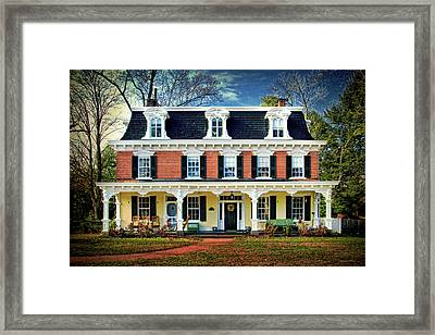 Historic Isaac Stover House  Framed Print