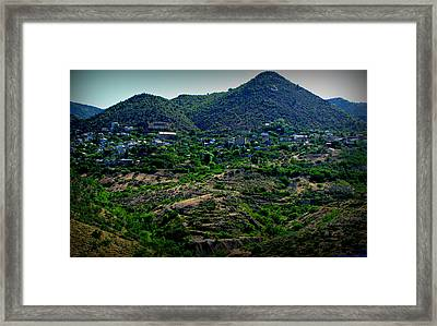 Historic Jerome Arizona Framed Print