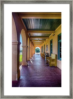 Historic Kelso Depot Framed Print