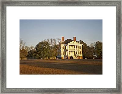 Historic Kershaw House Framed Print